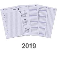 Kalpa schrijfblok: Senior organizer-vulling dag-agenda 2019