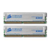 Corsair RAM-geheugen: 2GB(2 x 1GB) XMS DDR SDRAM Memory Module