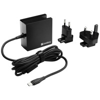 Sandberg USB-C AC Charger 65W EU+UK Netvoeding - Zwart