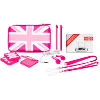 Bigben Interactive hardware: Big Ben, Accessory Pack 3 UK PINK (New 2DS XL / New 3DS XL)