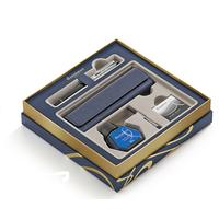 Waterman set: Fountain Pen Writing Set - Zwart, Blauw, Chroom