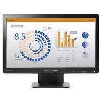HP monitor: ProDisplay P202va - 19.5'' Full HD - Zwart
