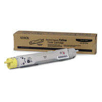 Xerox cartridge: Standaardcapaciteit Gele Tonercartridge, Phaser 6360 - Geel