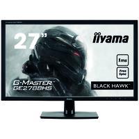 """Iiyama monitor: G-MASTER 68.58 cm (27 """") , TN LED, 1920 x 1080, 300 cd/m², 1 ms, VGA, DVI-D, HDMI, 643.5 x 462 x 242 ....."""