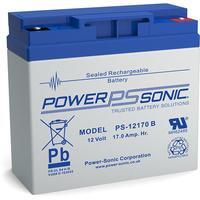 Power-Sonic UPS batterij: PS-12170VDS - Blauw, Grijs