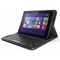 HP tablet case: Pro Tablet 408 Bluetooth Keyboard Case - Zwart, Grafiet