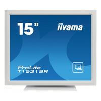 "Iiyama touchscreen monitor: ProLite 38.1 cm (15 "") (38 cm) TN LED, 8 ms, 4:3, 700:1, 350 cd/m², 0.297 x 0.297 mm, VGA, ....."