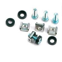 Equip montagekit: 4 x M6 Screws, Captive Nuts, Plastic Washer - Grijs