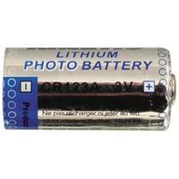 Kinetic Battery batterij: CR123A