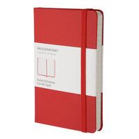 Moleskine Classic schrijfblok - Rood