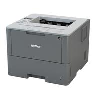 Brother laserprinter: Netwerk Laserprinter 46 ppm - 256 MB - interne duplexunit - LCD display - Zwart