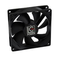LC-Power Hardware koeling: 92mm, 800 - 2200 rpm, 12V DC - Zwart
