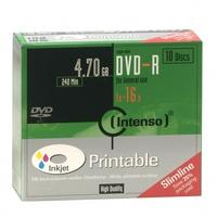 Intenso DVD: DVD-R 4.7GB, Printable, 16x