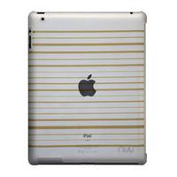 NUU BaseCase Stripe Tablet case - Lichtbruin