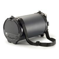 Conceptronic draagbare luidspreker: Draadloze actieluidspreker - Zwart, Grijs
