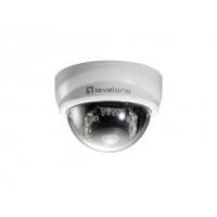 LevelOne beveiligingscamera: FCS-4101 2-Megapixel Day/Night P/T PoE Mini Dome Network Camera