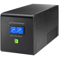 PowerWalker UPS: VI 1000 PSW IEC - Zwart