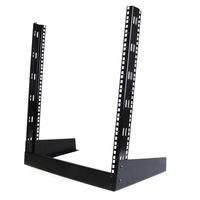 """StarTech.com 12U 48.26 cm (19"""") Desktop Open Frame 2 Post Rack - Zwart"""