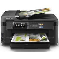 Epson multifunctional: WorkForce WF-7610DWF - Zwart, Cyaan, Magenta, Geel