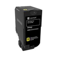 Lexmark cartridge: CS725 - Geel