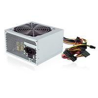Ewent power supply unit: 500W, ATX V2.2, 110/230V - Zilver