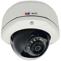 "ACTi beveiligingscamera: 3MP, 1080p, 30 fps, 1/3.2"" CMOS, Fast Ethernet, PoE, 6.27 W, 1006 g - Wit"