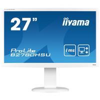 "Iiyama monitor: ProLite 68.58 cm (27 "") (69 cm) TN LED, 1920 x 1080, 16:9, 1200:1, 300 cd/m², 1ms, VGA, DVI-D, HDMI, ....."