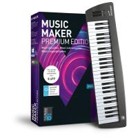 Magix audio software: Magix, Music Maker Control Edition (incl. keyboard)