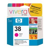 HP inktcartridge: 38 originele magenta inktcartridge