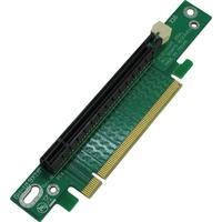 Inter-Tech interfaceadapter: RiserCard PCIe x16, 90° - Groen