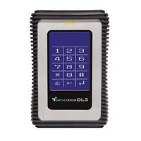 Origin Storage : DL3 Encrypted 960GB USB3 SSD - Zwart, Zilver
