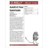 O'Reilly boek: Media AutoIt v3: Your Quick Guide - eBook (PDF)