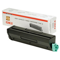 OKI toner: B4300 / B4350 Toner Cartridge Black high capacity 6.000 pages 1-pack - Zwart