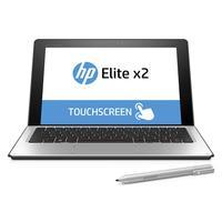 HP laptop: Elite x2 bundel: Elite x2 1012 M5 + Travel Keyboard en Wacom pen - Zilver