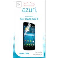 Azuri screen protector: Duo screen protector voor Acer Jade S 4G - Transparant