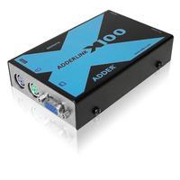 ADDER console extender: ADDERLink X100 - Zwart