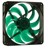 Nanoxia Deep Silence 120 Hardware koeling - Zwart, Groen