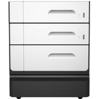 HP printerkast: PageWide Pro 2x500-sheet papierlade en standaard - Zwart, Licht Grijs