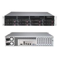 Supermicro server barebone: SuperServer 6028R-TR - Zwart