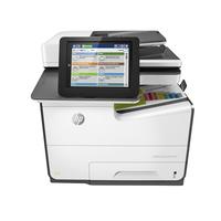 HP multifunctional: PageWide Enterprise Color 586dn - Zwart, Wit