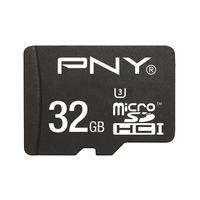 PNY flashgeheugen: MicroSDHC Turbo Performance 32GB - Zwart