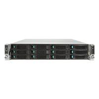 Intel server barebone: Server System R2312WTTYSR - Zwart, Metallic