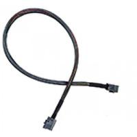 Adaptec kabel: ACK-I-HDmSAS-HDmSAS-.5M - Zwart