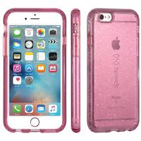 Speck mobile phone case: CandyShell Clear with Glitter case for iPhone 6s Plus/6 Plus, pink - Roze