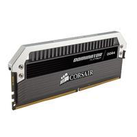 Corsair RAM-geheugen: Dominator Platinum Series 2 x 4GB DDR4 - Zwart, Roestvrijstaal