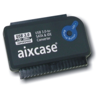 Aixcase interfaceadapter: AIX-BLUSB3SI-PS - Zwart