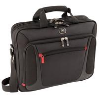 "Wenger/SwissGear laptoptas: SENSOR 15"" MacBook Pro Briefcase with iPad Pocket, Black - Zwart"