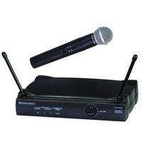 Omnitronic microfoon: VHF-250 - Zwart