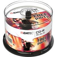 Emtec CD: CD-R, 700MB, 50pcs.