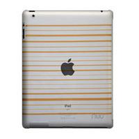 NUU BaseCase Stripe Tablet case - Oranje